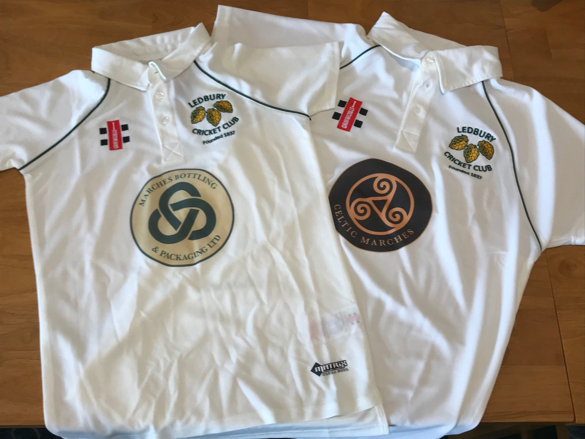 Ledbury Cricket Club Shirts