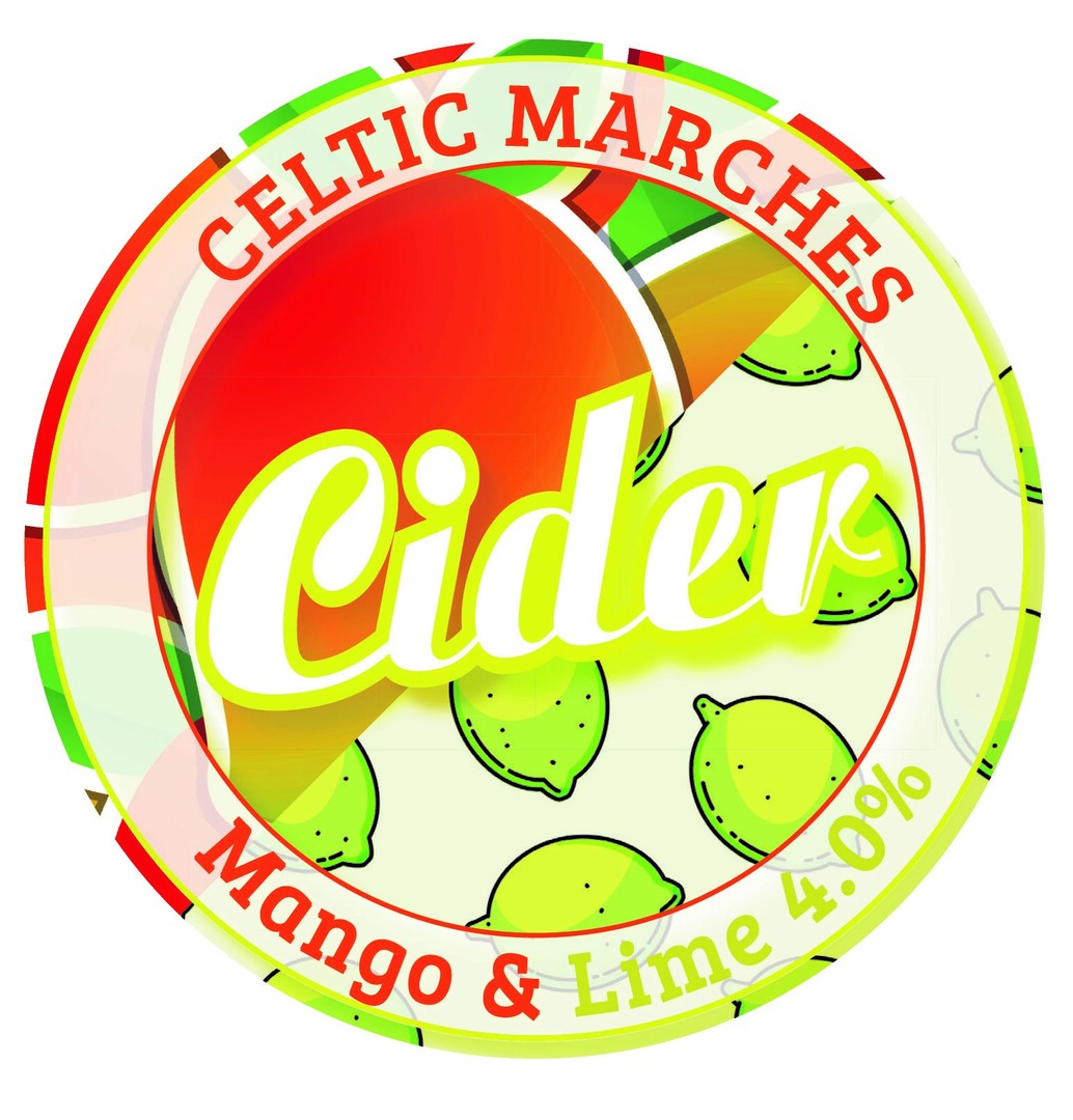 Limited Editon Mango and Lime Cider 4%