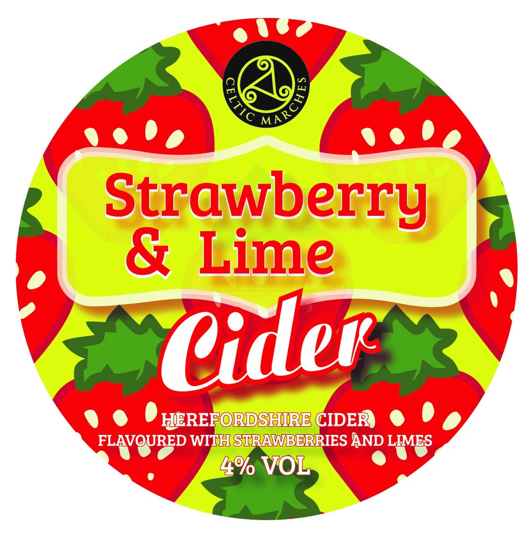 Limited Edition Strawberry & Lime Cider