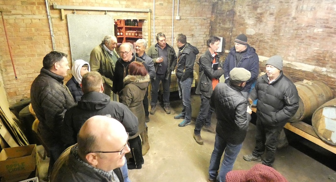 The Three Counties Cider and Perry Association meeting at Newton Court Cider