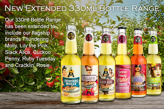 extended 330ml bottle range